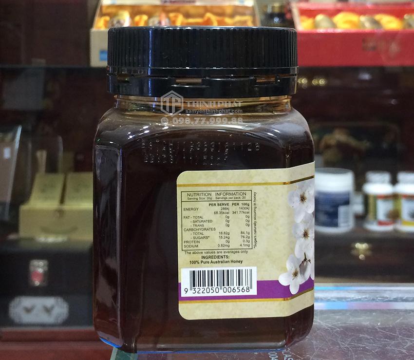 Mật ong nguyên chất Tasmanian Leatherwood Úc 400g