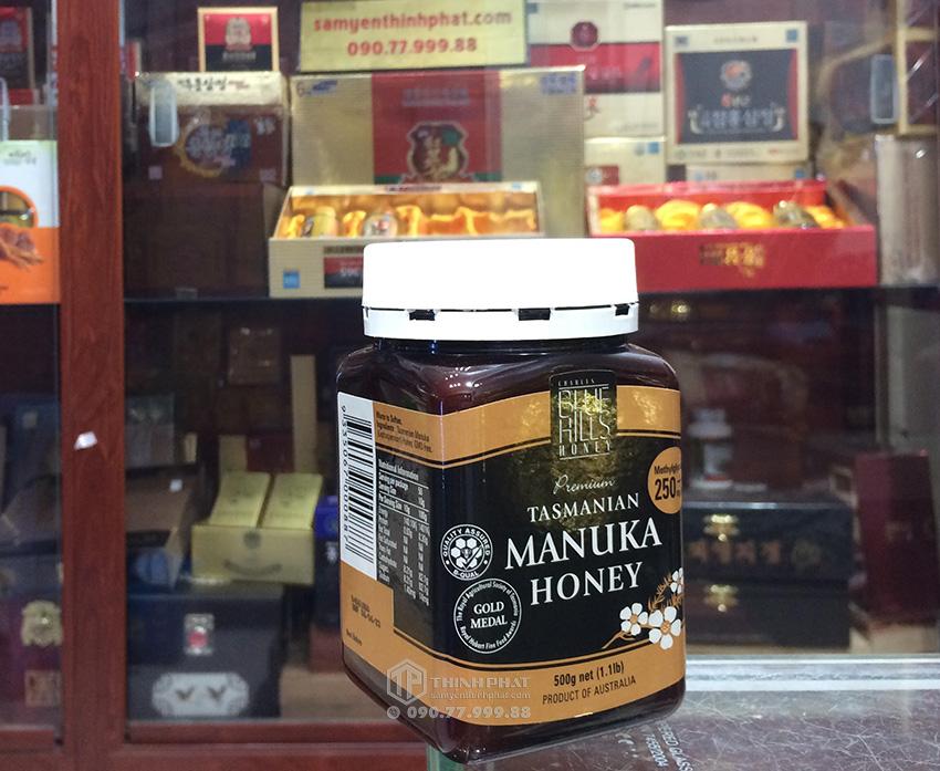Mật Ong Manuka Blue Hills 250+ 500g