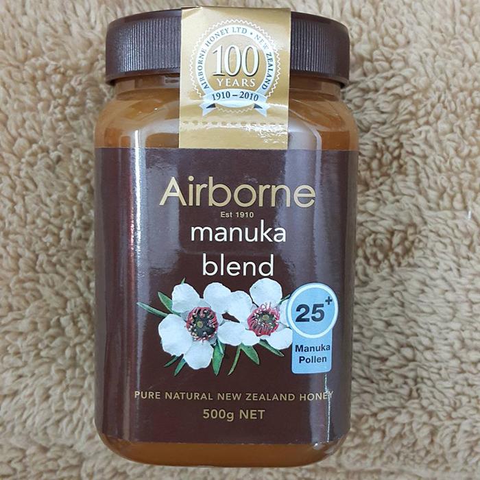 Mật ong Manuka New Zealand 25+ lọ 500g Airborne