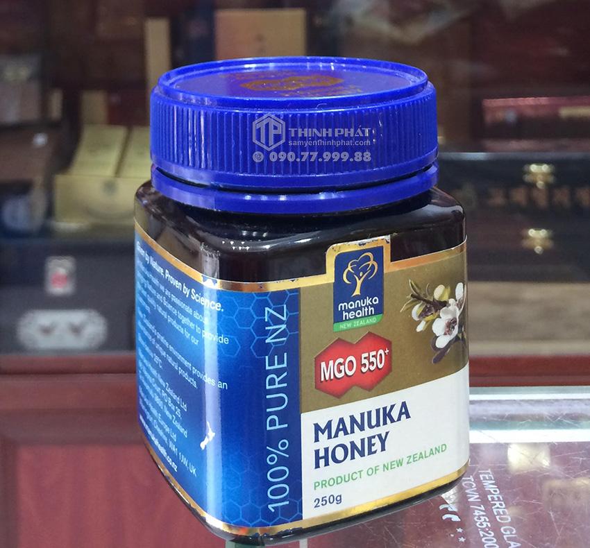 Mật ong Manuka New Zealand 250g 550+