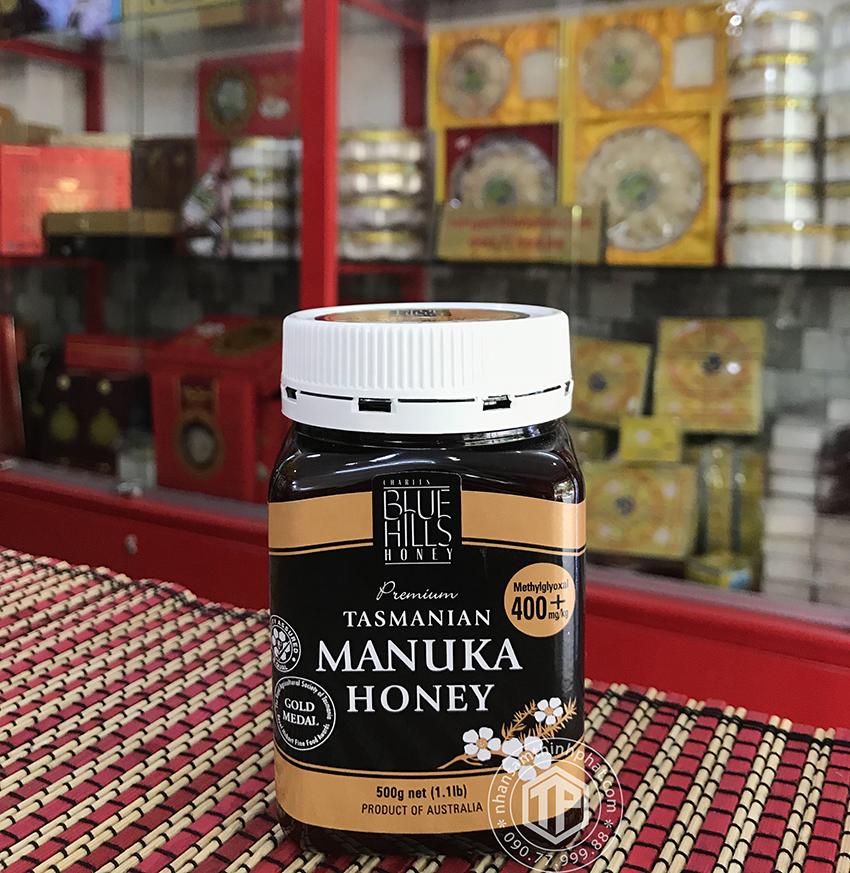 Mật Ong Manuka Blue Hills 400+ 500g