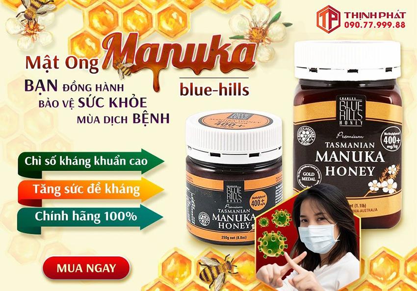Mật ong manuka - Bạn đồng hành bảo vệ sức khỏe mùa dịch bệnh