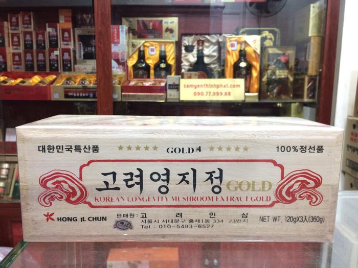 Cao linh chi Hàn Quốc sao vàng Gold