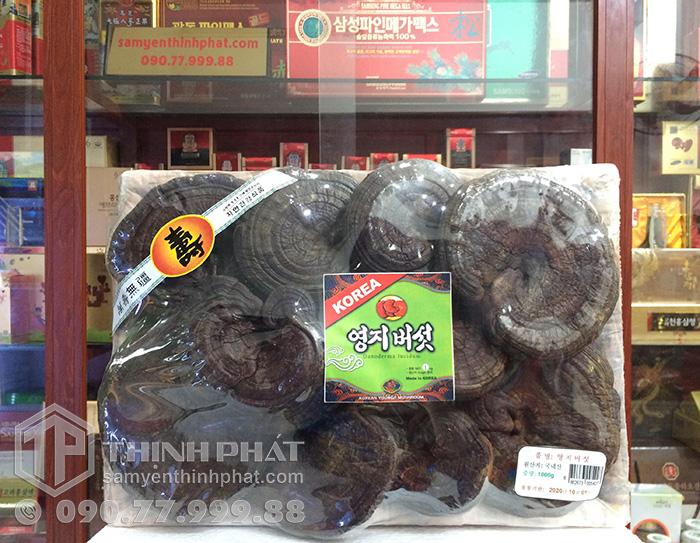 Nấm hắc linh chi Hàn Quốc 1kg