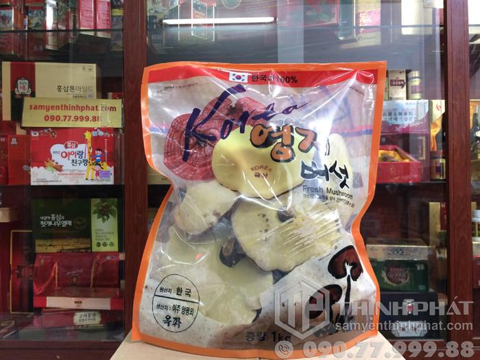Nấm linh chi tự nhiên Hàn Quốc cao cấp nhất 1 kg