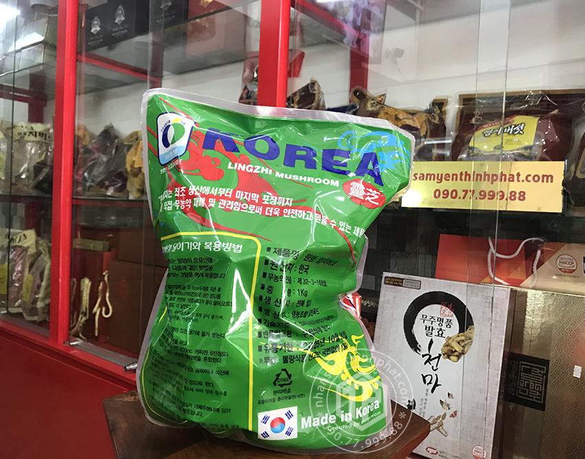 Nấm linh chi vàng thơm Hàn Quốc loại 1 - 1kg