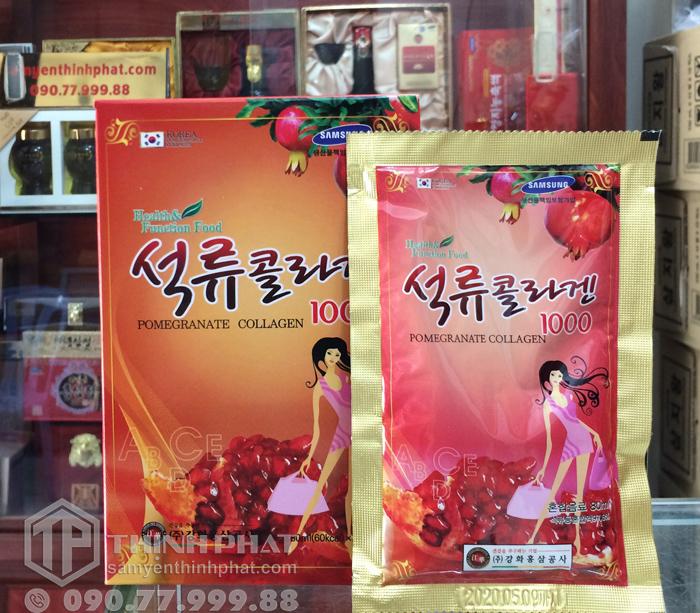 Nước ép lựu collagen Kanghwa Hàn Quốc 30 gói x 80ml