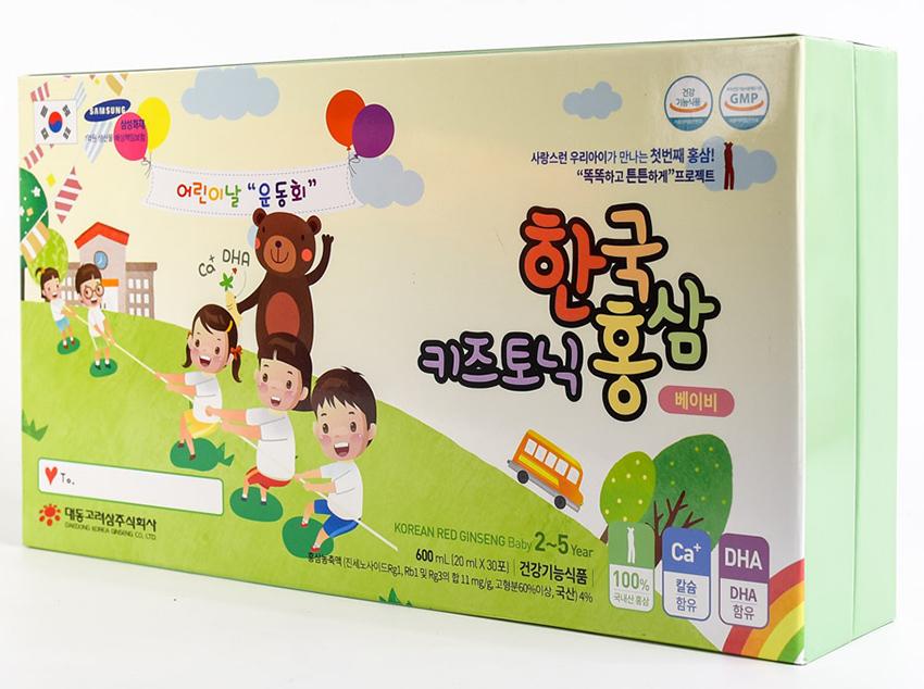 Nước hồng sâm Baby Daedong cho trẻ em 2 - 5 tuổi