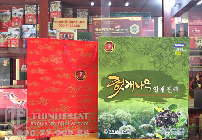 Nước hồng sâm bổ gan Hàn Quốc