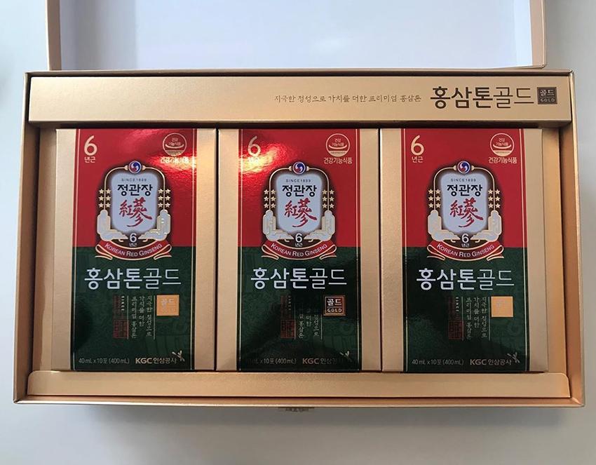 Nước hồng sâm cao cấp KGC TONIC GOLD - Cheong Kwan Jang