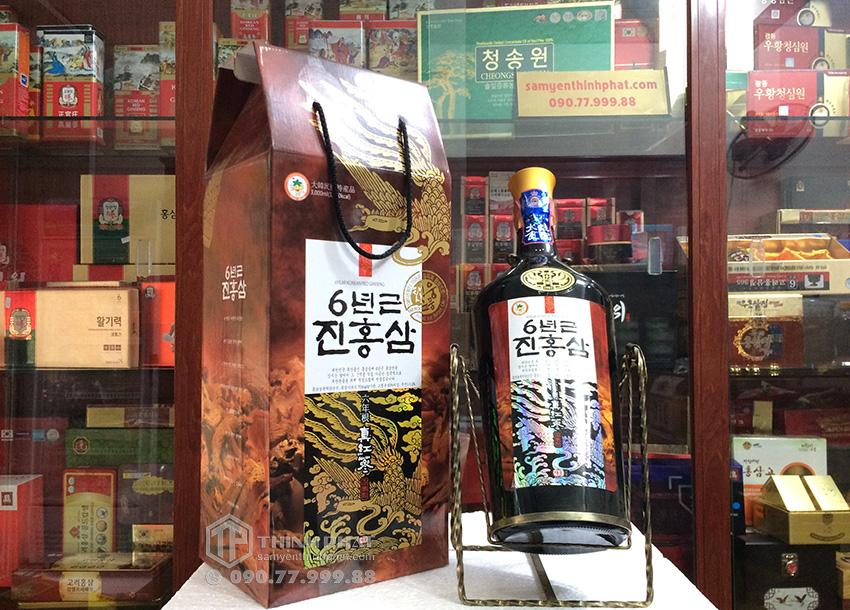 Nước hồng sâm Hàn Quốc 6 năm tuổi Teawoong chai 3 lít