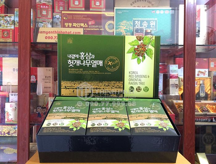 Nước hồng sâm Hàn Quốc bổ gan hãng Daedong 50ml x 30 gói