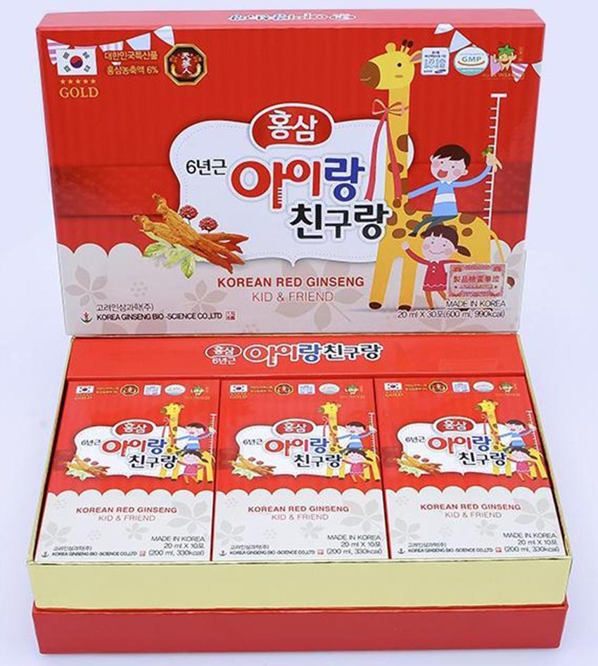 Nước hồng sâm hươu cao cổ cho trẻ - Bio Hàn Quốc