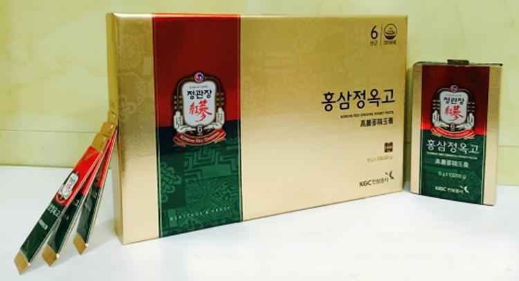 Nước hồng sâm mật ong KGC 30 gói x 10g