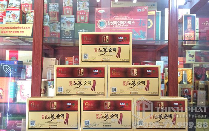 Nước hồng sâm Pocheon cao cấp hộp 30 gói