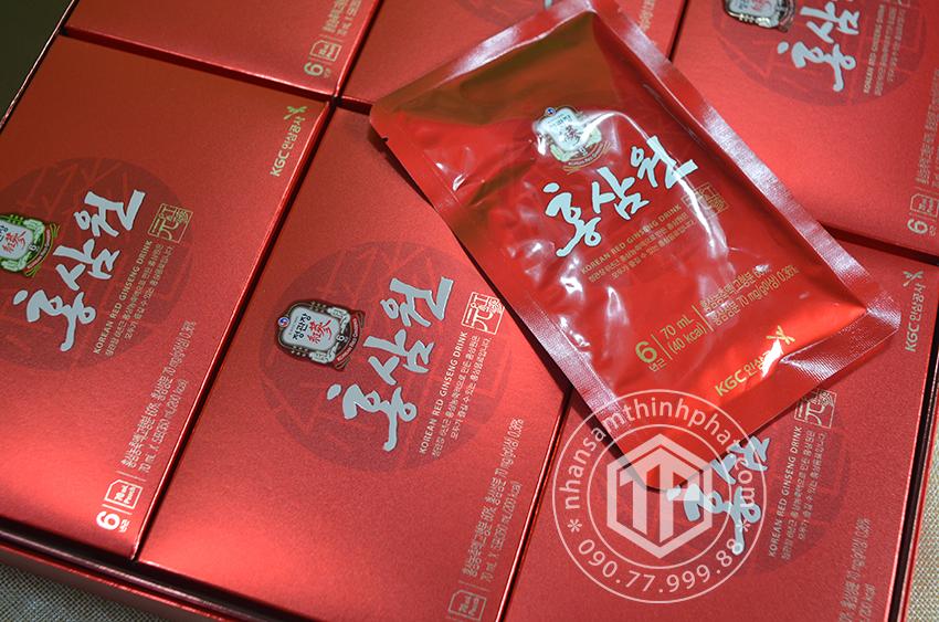 Nước hồng sâm Won cao cấp KGC sâm Chính phủ Hàn Quốc Cheon KwanJang hộp 30 gói