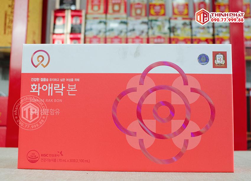 Nước Hồng Sâm Cao Cấp KGC cho nữ tuổi trung niên chính hãng