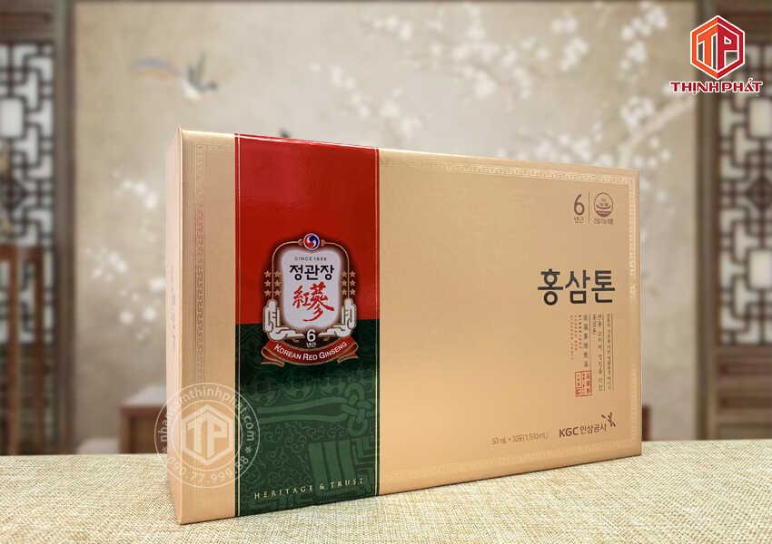 Nước hồng sâm Chính phủ Hàn Quốc cao cấp KGC Plus Mild hộp 30 gói Cheong Kwan Jang