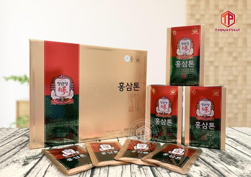 Nước hồng sâm Plus Mild 60 gói Sâm Chính phủ Hàn Quốc cao cấp