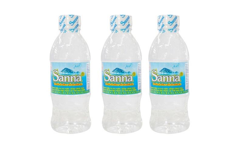 Nước uống đóng chai Sanna Khánh Hòa