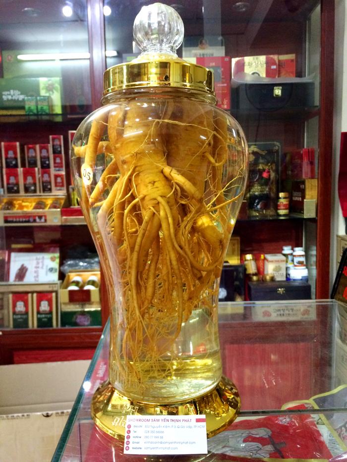 Rượu sâm Hàn Quốc 5 lít