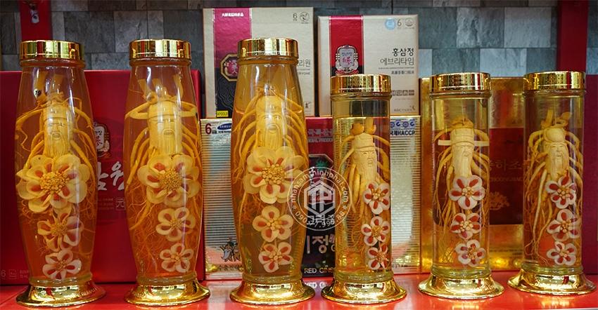 Rượu nhân sâm Phúc Lộc Thọ 6 năm tuổi Hàn Quốc