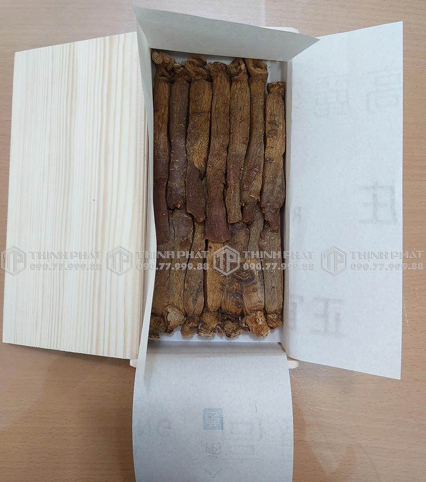 Hồng sâm củ khô 6 năm tuổi KGC Hàn Quốc 20PCS 300g 14 củ - Cheong Kwan Jang