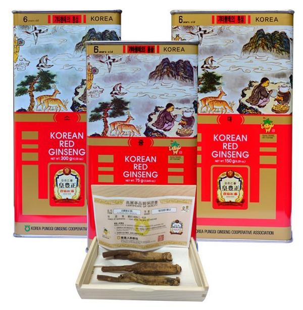 Sâm củ khô Punggi 150g củ lớn