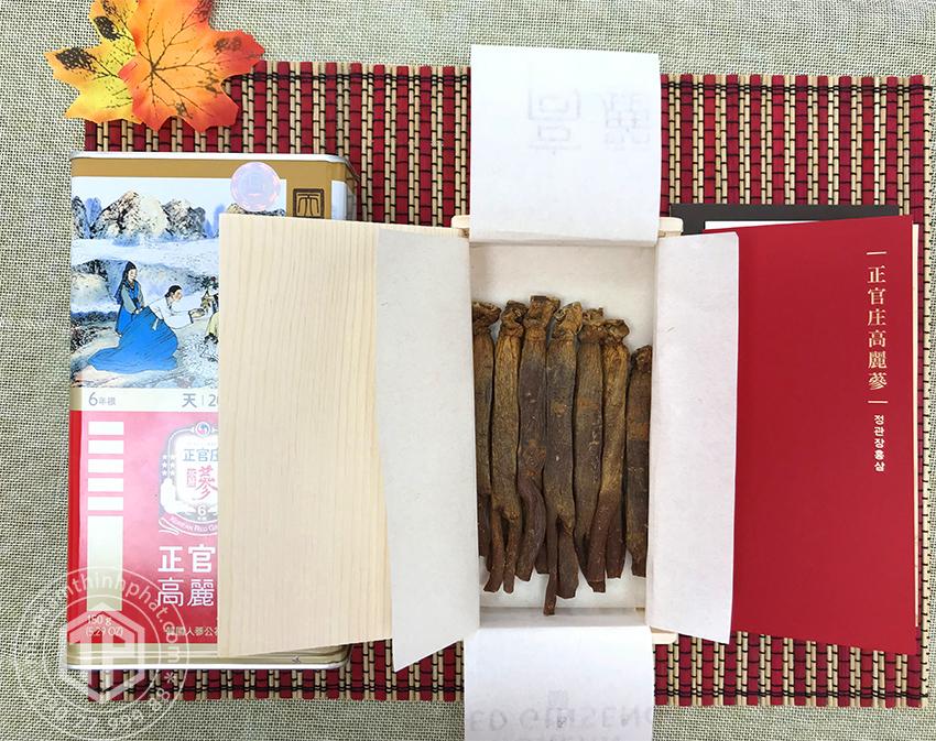 Thiên sâm chính phủ KGC Cheong Kwan Jang thượng hạng Heven 150g 20PCS