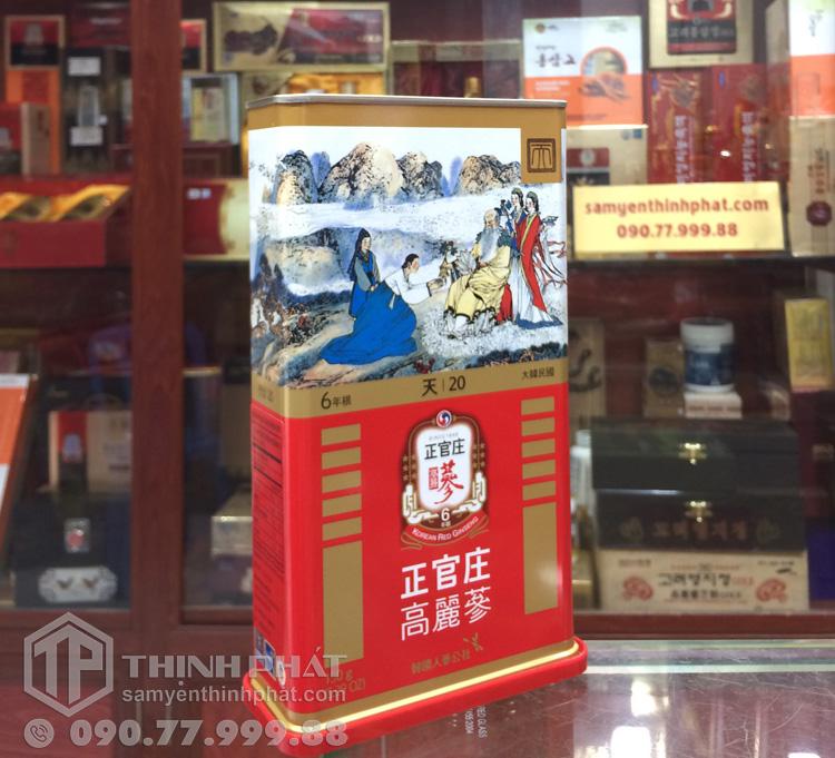 Thiên sâm chính phủ KGC Cheong Kwan Jang thượng hạn Heven 150g 20PCS  6 củ