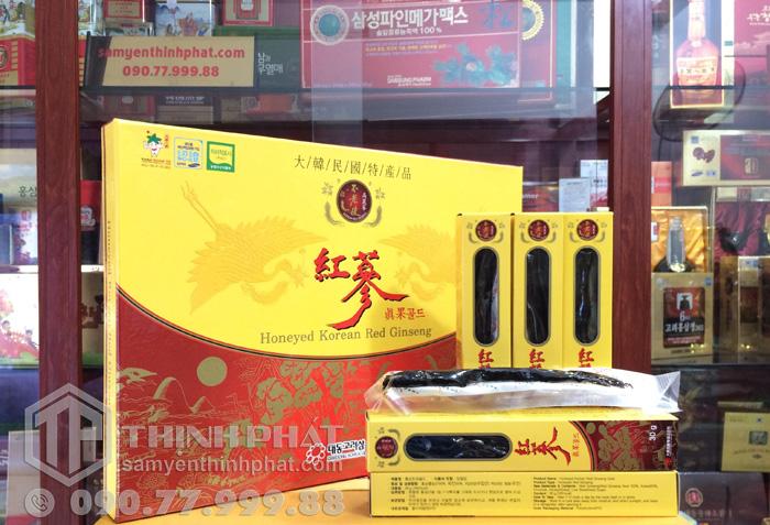 Hồng sâm củ tẩm mật ong - Deadong