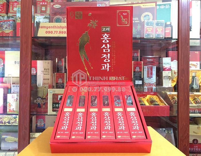 Hồng sâm củ tẩm mật ong KGS hộp 300g