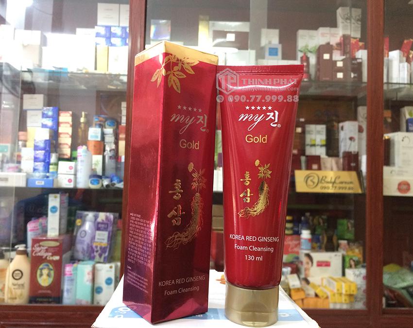 Sửa rửa mặt sâm đỏ Hàn Quốc