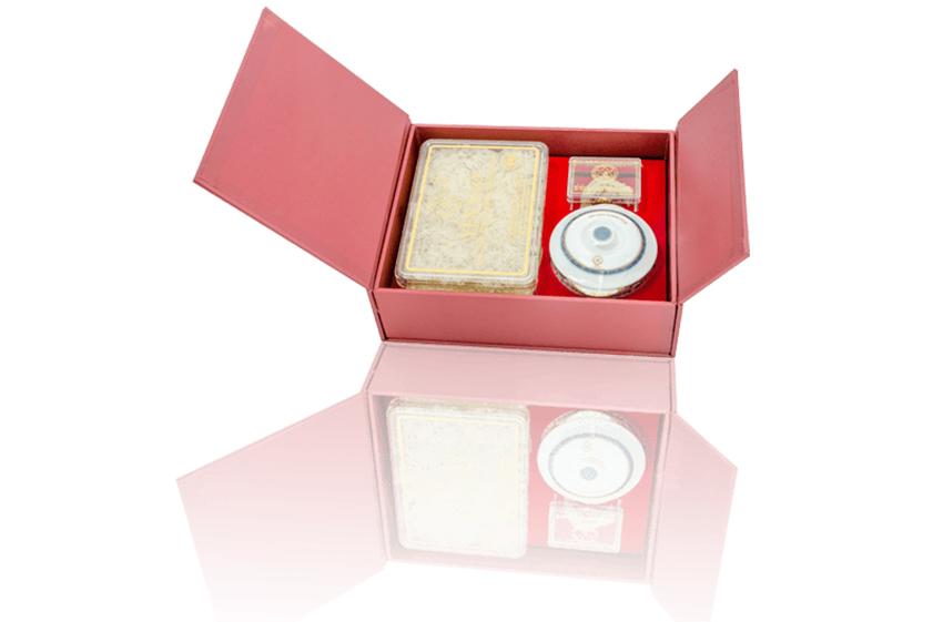 Tổ Yến Sào Khánh Hòa làm sạch hộp quà tặng 50g - 015GS