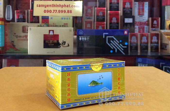 Tổ Yến Sào Khánh Hòa nguyên chất làm sạch hộp 3g - 011