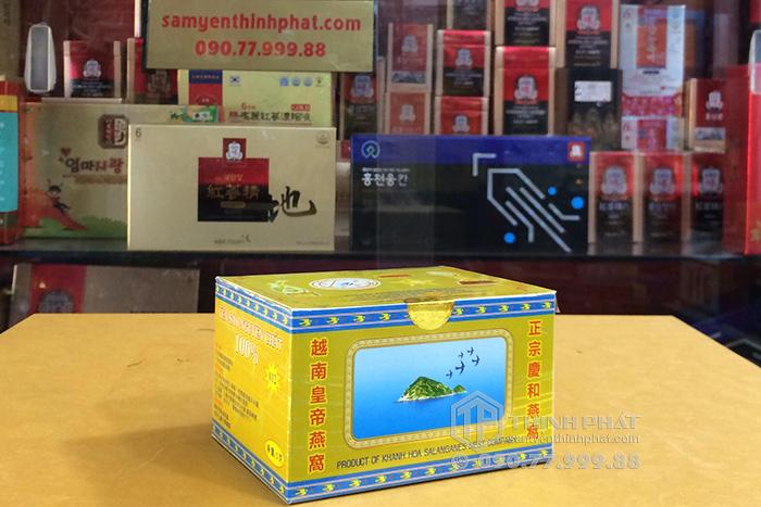 Tổ Yến Sào Khánh Hòa nguyên chất làm sạch hộp 5g - 012