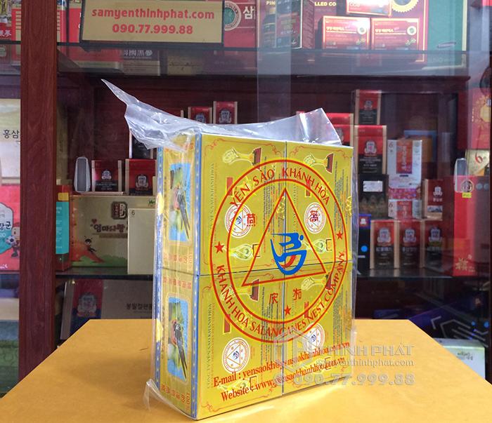 Tổ Yến Sào Khánh Hòa tinh chế 4 hộp 5g