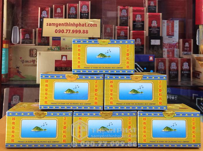 Tổ Yến Sào Khánh Hòa tinh chế 6 hộp 3g