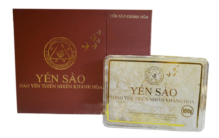 Tổ Yến Sào Khánh Hòa yến đảo thiên nhiên mẫu hộp quà tặng 100g - 014G
