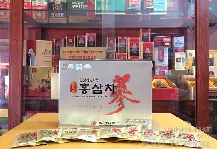 Trà hồng sâm hàn Quốc cao cấp Deadong 50 gói