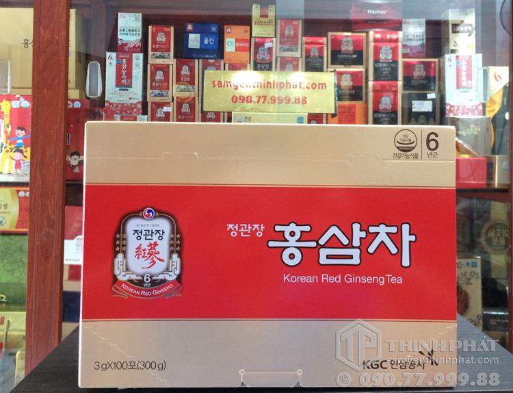 Trà hồng sâm KGC hộp 100 gói