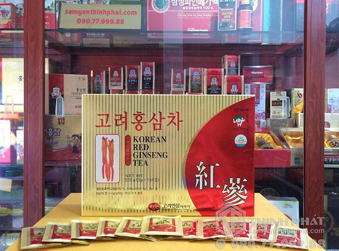 Trà sâm Hàn Quốc KGS hộp 100 gói