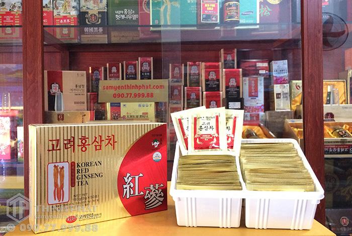 Trà sâm Hàn Quốc KGS hộp 50 gói