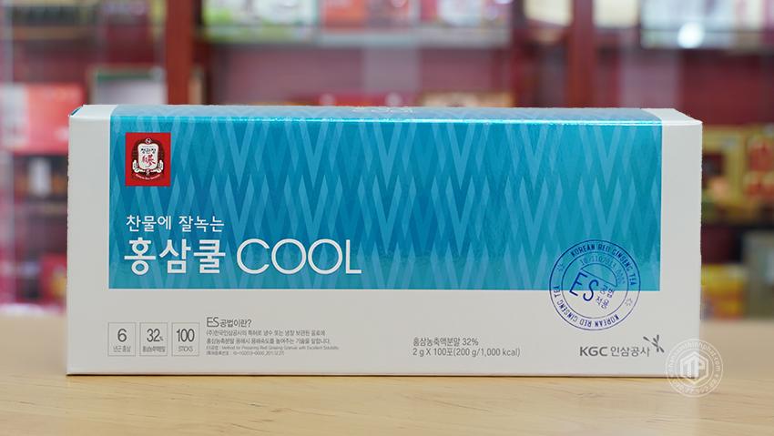 Trà hồng sâm cao cấp KGC sâm chính phủ Cheong Kwan Jang hộp 100 gói