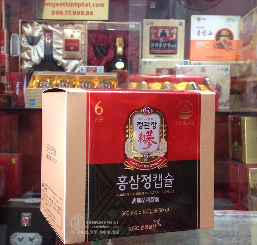Viên hồng sâm Hàn Quốc cao cấp KGC Cheong Kwan Jang hộp 150 viên