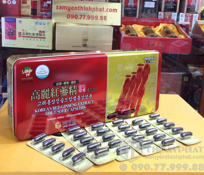 Viên hồng sâm Hàn Quốc Dongwon