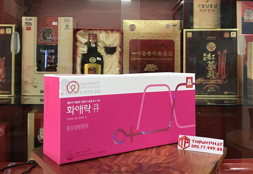 Viên hồng sâm KGC cho phụ nữ tuổi trung niên Hwa Ae Rak (Women Balance Q) 120 viên