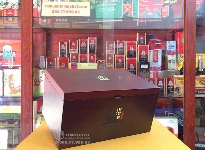 Viên hồng sâm linh đan Chính phủ Hàn Quốc Cheong Kwan Jang KGC hộp 30 viên