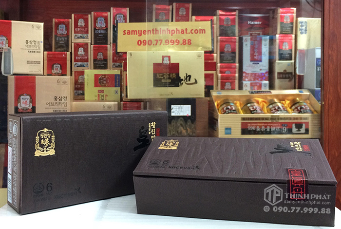 Viên hồng sâm linh đan Chính phủ Hàn Quốc Cheong Kwan Jang KGC hộp 3 viên