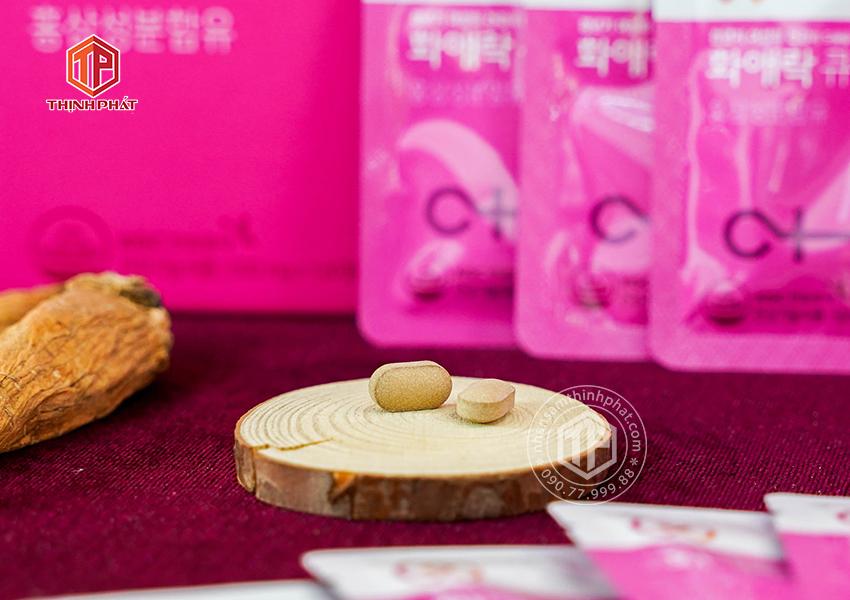 Viên hồng sâm KGC cho phụ nữ tuổi trung niên Hwa Ae Rak (Women Balance Q) - hộp 120 viên